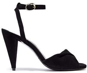 Maje Fairy Twisted Suede Sandals