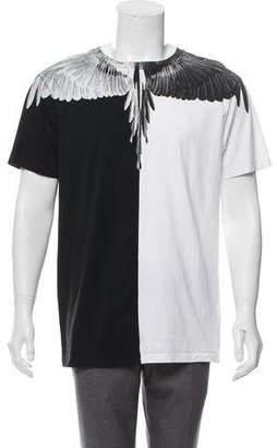 Marcelo Burlon County of Milan Split Graphic T-Shirt