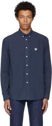 Kenzo Navy Tiger Crest Shirt