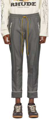 Rhude Grey Smoking Trousers