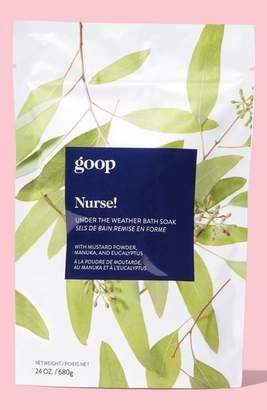 Goop Nurse! Under The Weather Bath Soak