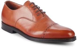 Paul Stuart Men's Cap Toe Leather Oxfords