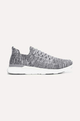 APL Athletic Propulsion Labs Techloom Breeze Mélange Mesh Sneakers - Gray