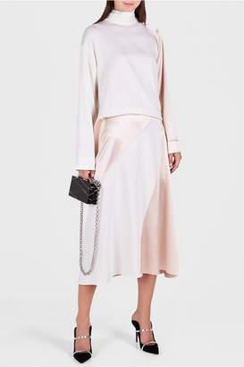 Cédric Charlier High Collared Dress