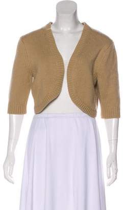 Michael Kors Cashmere Cropped Cardigan