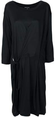 Ann Demeulemeester tie waist dress
