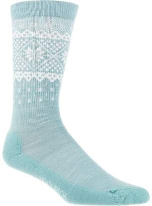 Woolrich Snow Flake Border Sock - Women's
