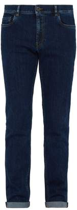 Prada Slim Leg Stretch Denim Jeans - Mens - Indigo