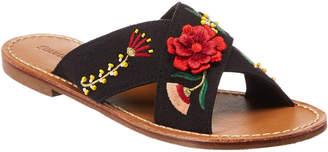 Soludos Embellished Floral Sandal
