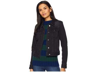 Lauren Ralph Lauren Lace-Up Sleeve Denim Jacket