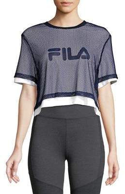 Fila Alberta Cotton Cropped Top