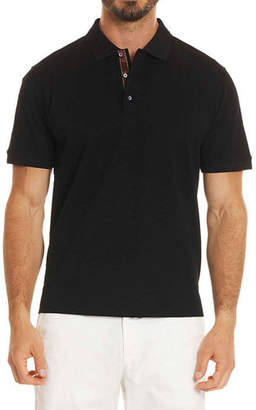 Robert Graham Edwin Tonal-Pattern Polo Shirt