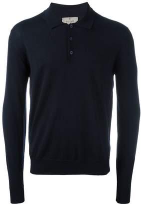 Canali longsleeved polo shirt