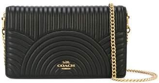 Coach Callie foldover clutch