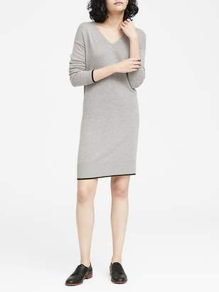 Banana Republic V-Neck Sweater Dress