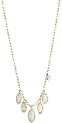 Meira T 14K Yellow Gold Marquise Opal Pendant Necklace