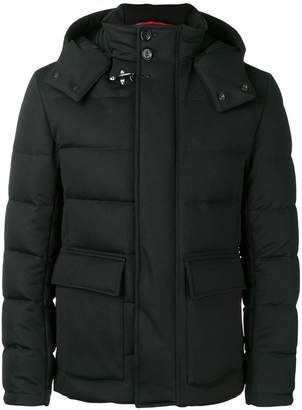 Fay padded hooded jacket