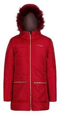 Regatta Kids Girls Cherry Parka Junior Jacket Coat Top Waterproof Hooded Zip