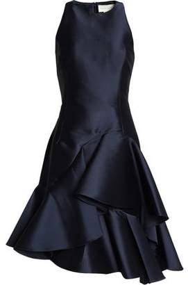 Sachin + Babi Asymmetric Ruffled Taffeta Dress