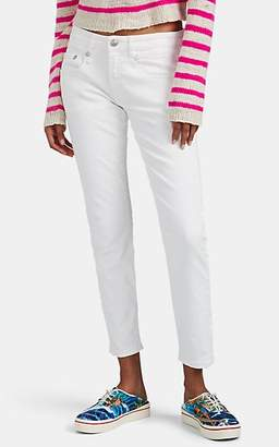 R 13 Women's Boy Skinny Jeans - White