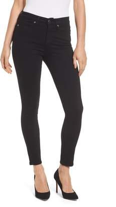 Good American Good Legs High Rise Crop Skinny Jeans