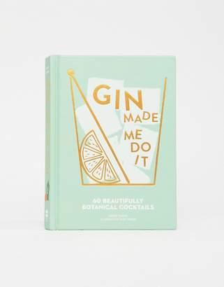 Books Gin Made Me Do It Recipe Book