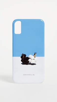 Gray Malin Llamas iPhone X Case