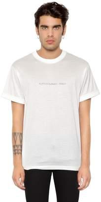 Ih Nom Uh Nit Plata O Plomo? Printed Jersey T-Shirt