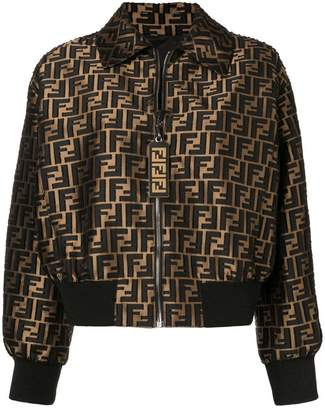 Fendi monogram bomber jacket
