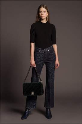 Sonia Rykiel Denim Saint Germain Trousers