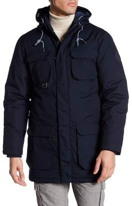 Knowledge Cotton Apparel Heavyweight Hooded Parka Jacket