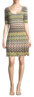 M Missoni Ripple Sheath Dress
