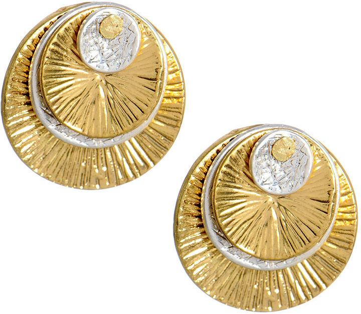 Kenneth Cole New York Earrings, Multi Disc Stud Earrings