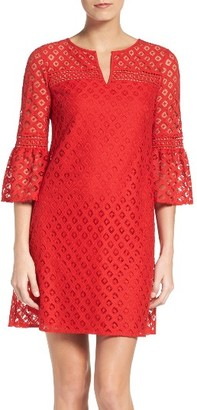 Women's London Times Lace Babydoll Dress $88 thestylecure.com
