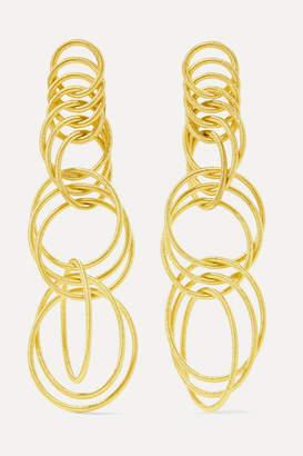 Buccellati Hawaii 18-karat Gold Earrings - one size