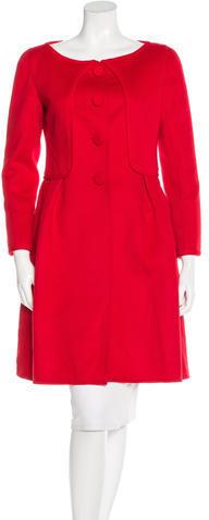 ValentinoValentino Wool & Cashmere-Blend Coat