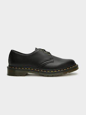 Dr. Martens New Unisex Vegan 1461 3 Eye Shoe In Black Boots