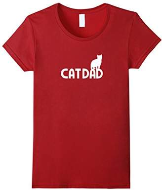 Cat Dad Cute and Funny Cat Owner T-Shirt