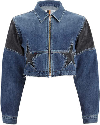 Atelier Jean Toni Cropped Denim Jacket
