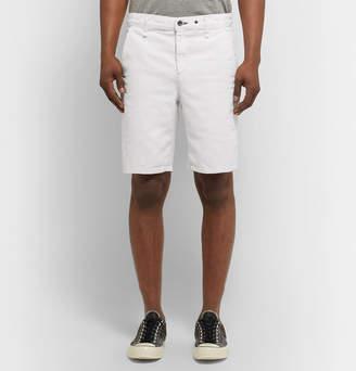 Rag & Bone Slim-Fit Cotton And Linen-Blend Chino Shorts