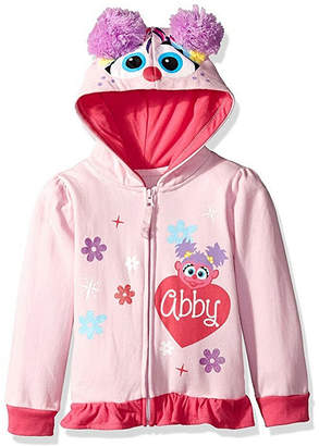 1ffddf44a Asstd National Brand Sesame Street Toddler Girls Abby Costume Hoodie with  Crystalline and Glitter Wings