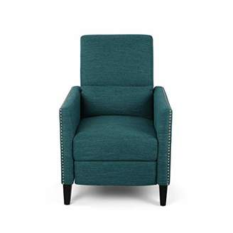 Christopher Knight Home 309298 Alexis Contemporary Fabric Push Back Recliner