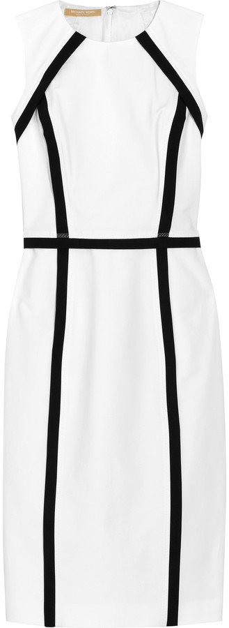 Michael Kors Stretch cotton-blend dress