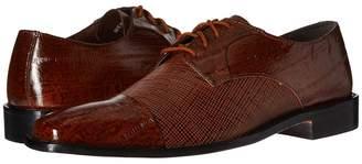 Stacy Adams Gatto Leather Sole Cap Toe Oxford Men's Lace Up Cap Toe Shoes