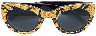Versace Eyewear baroque print sunglasses