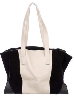 Narciso Rodriguez Leather & Suede Tote