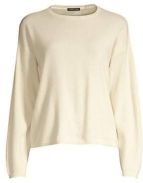 Eileen Fisher Women's Cashmere Crewneck Sweater