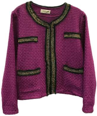 Antonello Serio Crop Tweed Blazer