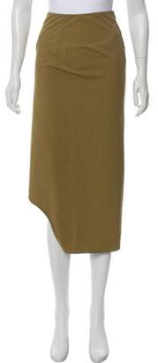 Marni Asymmetrical Midi Skirt Asymmetrical Midi Skirt