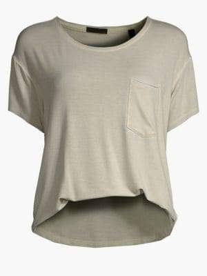 ATM Anthony Thomas Melillo Sunbleached Pocket Tee